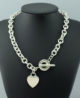 6a1201a78 Tiffany & Co Sterling Silver Heart Tag