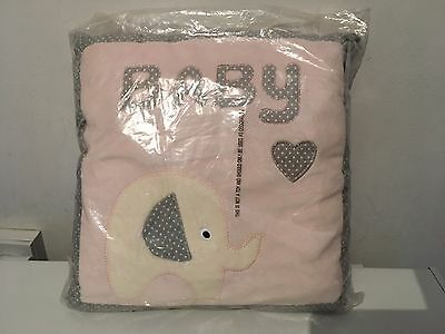 "Cushion 14"" Baby Girl BNIP  Cute Item"
