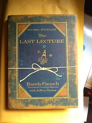 The Last Lecture by Jeffrey Zaslow, Randy Pausch (2008, Hardcover)