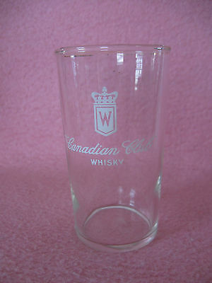 Canadian Club Whisky Drink Glass Canadian Club Cocktail Drink Glass holds 8 oz.