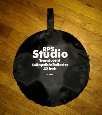 """RPS Studio Collapsible translucent 42"""" Reflector, rs-3439"""