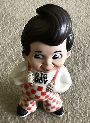 Shoney's Big Boy Vinyl Bank Rare Collectible 1973
