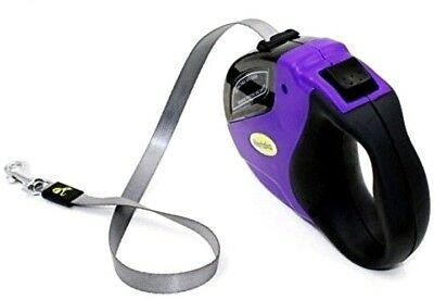 Hertzko Dog Leash Heavy Duty Retractable Dog Up To 110Lbs Extends 16Ft
