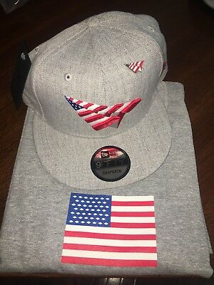 Roc Nation American Dream Grey Snapback Hat With Pin Paper Planes Jay-Zhat eb19ec4c659b