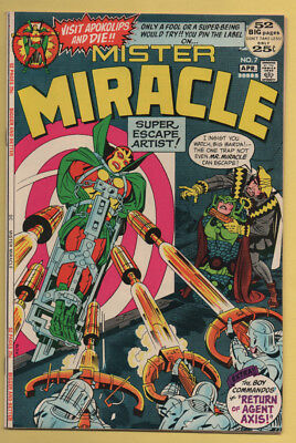 Mister Miracle #7 Boy Commando Backup Story! Mar/Apr 1972, DC, 1971 Series VF+
