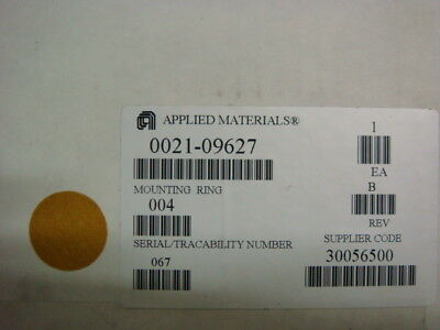 AMAT, Applied Materials, 0021-09627, MOUNTING RING, DOME, DPS POLY