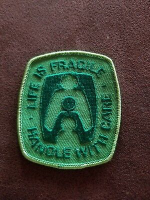 Vintage Life is Fragile Handle with Care Patch