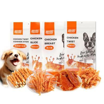 Dog Puppy Pet Soft Treats Training Snack Pet Chews Healthy Cleaning Stick 2018