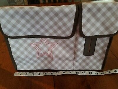 b2ccf7e9705f NEW~THIRTY ONE DIAPE stroller bag. MED size. Pockets. Wipe pocket.Canvas. -   19.99