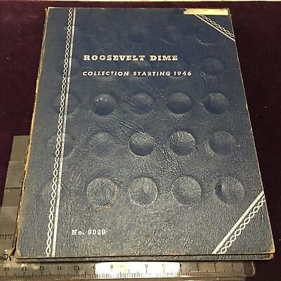 Mixed 13 Coin Collection of Roosevelt 1946+ Album # 9029