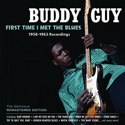 Buddy Guy First Time I Met The Blues Remastered Cd New