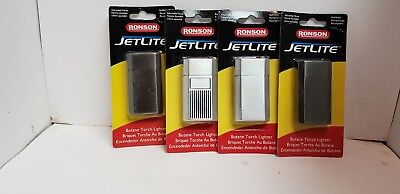 2 assorted Ronson Jet Lite torch  Cigarette Lighters new