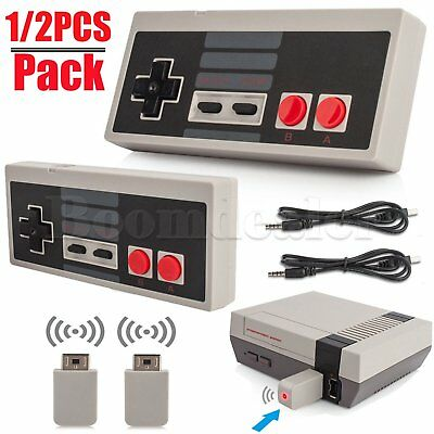 Wireless Handle Controller Gamepad for NES Classic Edition Nintendo Mini Console