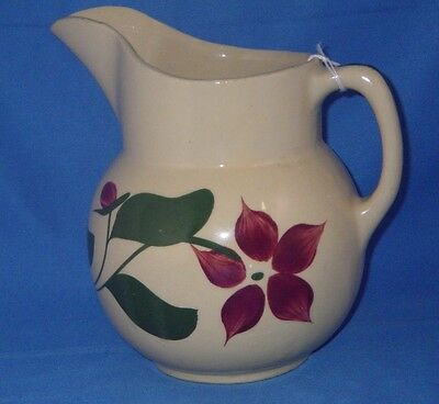 Vintage Watt Pottery Starflower 5 Petal  # 16 Pitcher