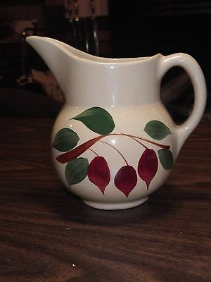 Watt Ovenware Pottery # 15 Usa Cream Pitcher Teardrop