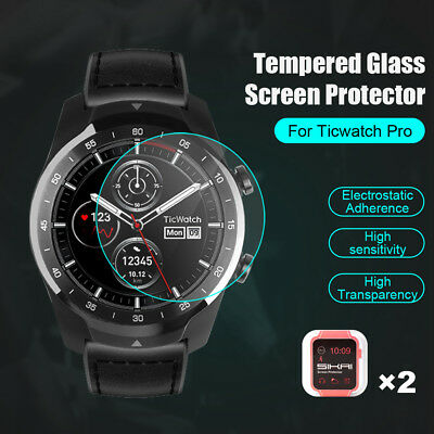 Premium Tempered Glass Screen Protector Film For Ticwatch Pro Smart Watch