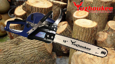 62cc 18in Bar Gas Chainsaw Alloy Steel Yuzhoukee FREE SHIPPING US STOCK