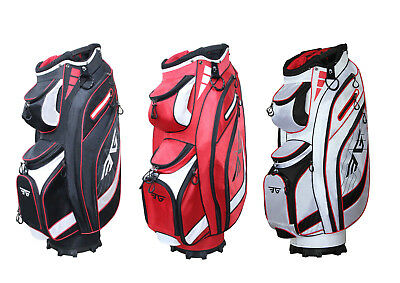 EG Eagole 14 Way Full Length Divider,10 Pockets (1 beverage cool)Golf Cart Bag