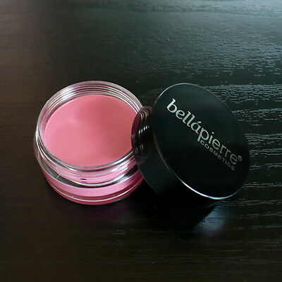 Bellapierre ~ Cheek & Lip Tint Stain Cream Pomade in Jar ~ Pink Shade ~ 5g New
