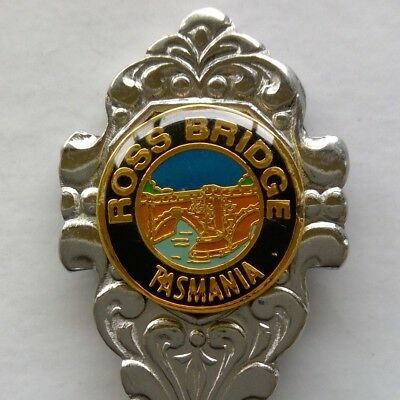 Ross Bridge Tasmania Souvenir Spoon Teaspoon (T151)