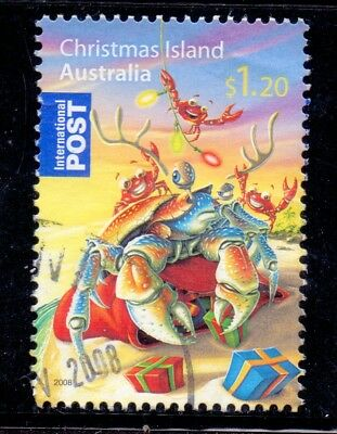 Australia 2008 Christmas Island International Post Christmas $1.20 - used