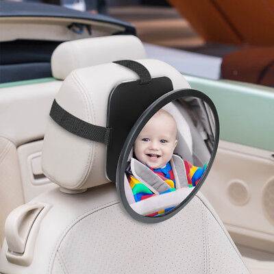 Baby Back Safety Seat Mirror For Car View Infant Newborn In Rear Facing