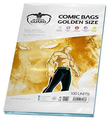 Ultimate Guard Comic Sacs (Doré Taille, Lot de 100)