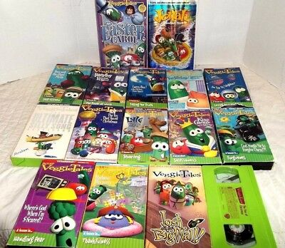 JONAH - A VeggieTales Movie -VHS in Clamshell Case from ...