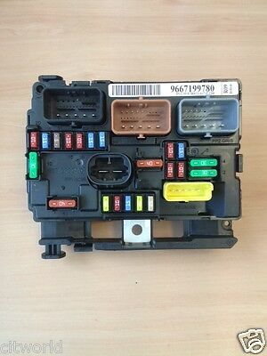 genuine peugeot 207 under bonnet fuse box 6500hw 166 00 picclick uk rh picclick co uk