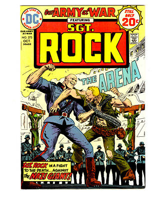 OUR ARMY AT WAR #273 in NM- a 1974 DC WAR comic with SGT ROCK  crucifixion cover