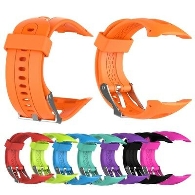 Sports Bracelet Silicone Strap band For Garmin Forerunner10/15 Smart Watch Male