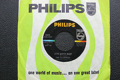 "7"" The Flamingos - Itty Bitty Baby - US Philips"