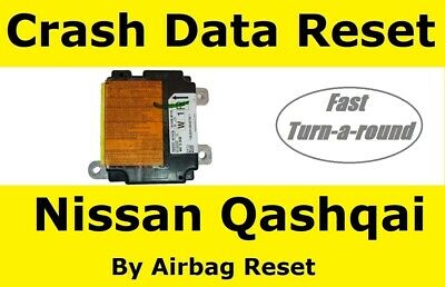 Airbag Module Reset Service For Nissan Qashqai 98820 4EH0B | 98820 4EH0C