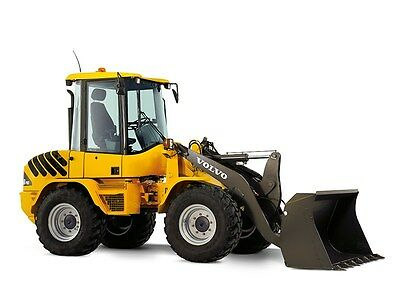 Volvo L35B Compact Wheel Loader Service Shop Repair Manual