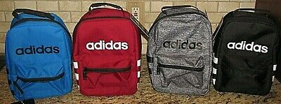 3d58cfaa5b ADIDAS SANTIAGO LUNCH Box Tote Black Grey Blue -  17.95