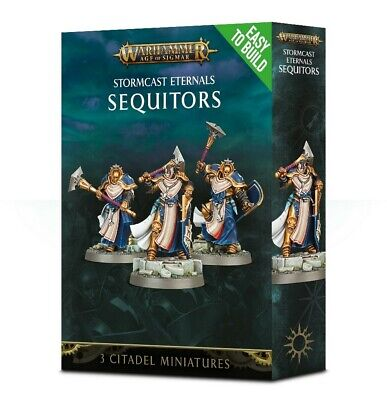 ETB: Stormcast Eternals Sequitors Games Workshop Brand New 99120218034