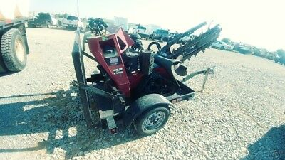 2014 Toro TRX-20 Walk Behind Trencher With Trailer Track Skid Steer Trenche Used