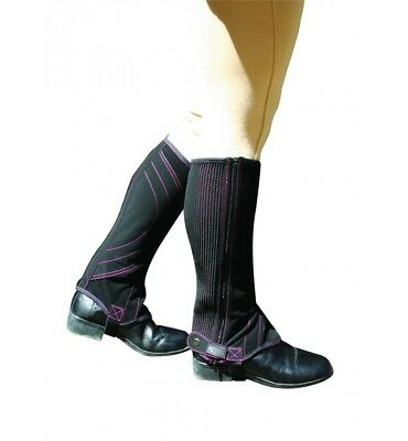 Dublin Easy Care Half Chaps - Adults