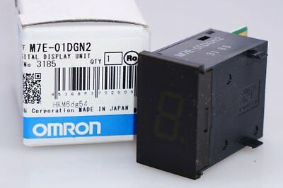OMRON M7E-01DGN2 LED DIGITAL DISPLAY Unit NEG 12-24VDC GREEN  NEU