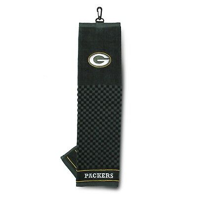 (Green Bay Packers) - NFL Green Bay Packers Embroidered Golf Towel. Team Golf