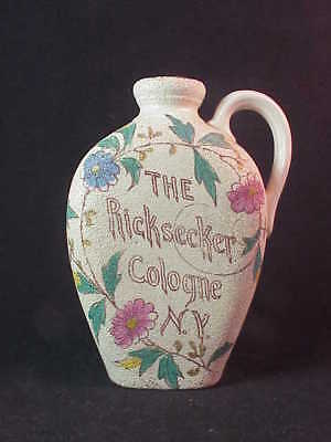 Ricksecker's Cologne - New York - Flask Shaped Mini Jug