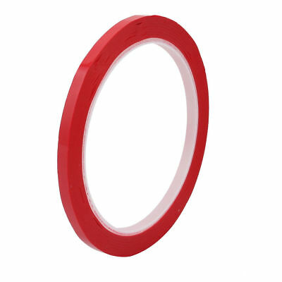 5mm Width 50M Length Single-side Electrical Insulated Adhesive Tape Red