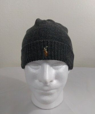 1c8af8e364f POLO RALPH LAUREN Beanie - One Size Navy  New- No Tags    Retail  45 ...