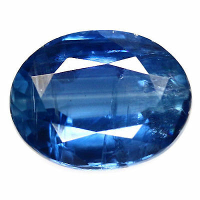 TOP BLUE KYANITE : 1,52 Ct Natürlicher Blau kyanit / Disthene , Rhaeticite