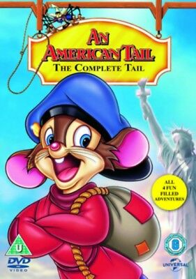 An American Tail: 1-4 DVD Boxset, free delivery very good deal CLEAROUT SALE