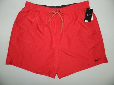 9a88d30aef Nike Men's Embossed Volley Swimwear Shorts / Trunks NWT Size 2XL MSRP $48  MS392