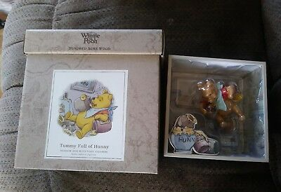 Winnie the Pooh Hundred Acre Wood Shadow Box - Tummy Full of Hunny NEW IN BOX