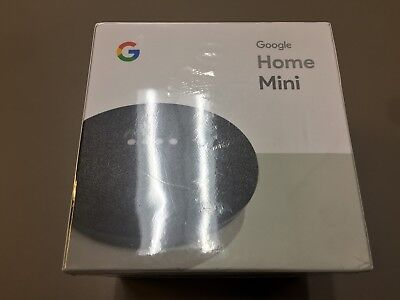 Google Mini - Google Personal Assistant - Black - Brand New Sealed