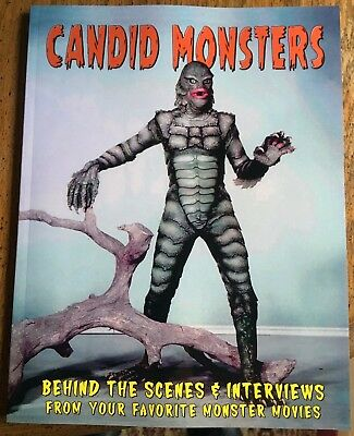 CANDID MONSTERS Book 100 + Monster Photos CREATURE From the Black Lagoon SPFX