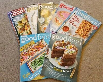 BBC Good Food Magazines 2018 x 7